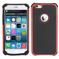 Shock Proof Hybrid Cover Hard Silicone Case for Apple iphone 6 Air