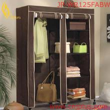 JP-WR125FABW High Quality Bedroom Furniture Bedroom Cabinet Wardrobe Folding Girls