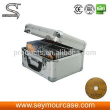 Portable DVD Case Aluminum CD Case 40-Disc ABS CD/DVD dj Case