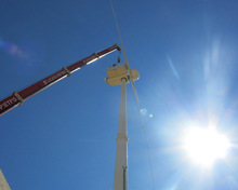 60kw variable pitch control wind turbines ,electric pitch control system
