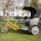 Australia open type taxi electric cargo rickshaw