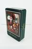 santa claus tin box for Christmas