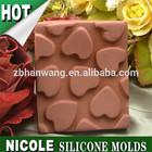 DIY handmade Silicone Chocolate Pudding Dessert Cake Mold C0036