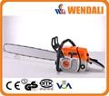 380 381 3.1kw/7500rpm tronçonneuse à essence 72cc bois machine de découpe avec du ce gs pipe chaîne de coupe