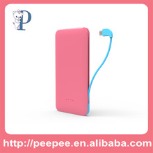 2014 new product mobile charger portable power bank 5000mah