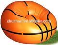 pvc silla inflable de baloncesto, sofá inflable de baloncesto