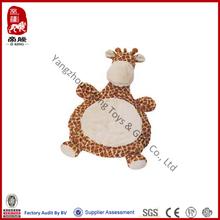 China wholesale plush giraffe stuffed animal baby cushion