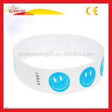 Waterproof Stick-up Tyvek Paper Wristband