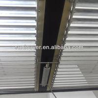 Automatic aluminium movable louver shutter