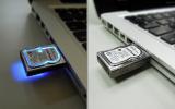 Geek Alloy Harddisk Gift USB Flash Memory Pendrive