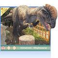 parque animatronic dinossauro de brinquedo