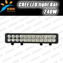 Super bright C ree 9-32v 240W high lumen led light bar for all SUV truck tractor car led driving light fog lights for offroad
