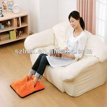 Plush USB Foot Warmer Shoes usb heating Home warm foot shoe Electric Heat Slipper Laptop PC USB 4W Shoes coral fleece