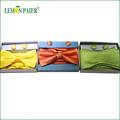 lemonpaier personalizado mens tecidos laço de seda define
