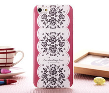 3d flower tpu silicon case for iphone5 housing