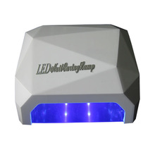 Hot sale! special shape protable uv led nail lamp 18w with CE and RoHS certificates