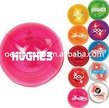 Promotional LED Blinking Ball with logo