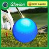 Hot selling sports luminous logo printing golf ball glovion led flashing golf ball luminous golf ball