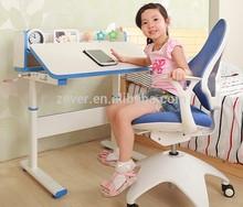 Height adjustable children study desk
