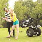 2014 CHIC- GOLF 6 seater gas powered golf cart