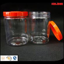 PET Clear Food Bottle,Milk powder jar with hadle cap plastic bottle