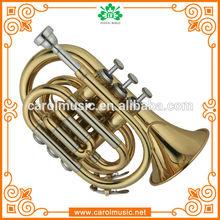 TR104 Cupronickel Tuning Pipe pocket mini trumpet