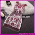 applique dresses lace applique thai silk evening dress mini evening dress 2014