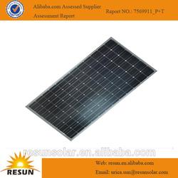 Monocrystalline 250watt solar panels with grid panel connector