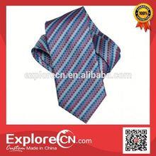 Fashion custom twill print tie silk