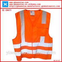 occupational health vest for worker CE EN471