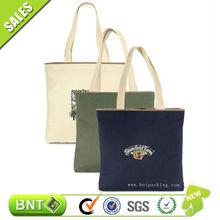 fashion wholesale plain tote bag cotton with logo printing ,cotton shopping bag ,Canvas Cotton Sling Bag Cotton