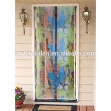 Magnetic Mesh Door - butterfly design