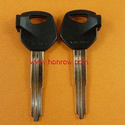 2014 HOT selling motorcy Plastic key shell for Suzuki Motorcycle transponder key blank(Black color) fob,blank key shell,key case