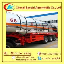 liquid asphalt tanker trailer