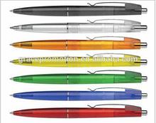 2014 acrylic paint pen colorful plastic ball pen for promotion