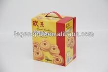 E flute Corrugated carton rear open post box