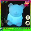 plastic decoration led bear