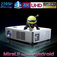 full hd 3d led projector / dlp link 3d led projector / hd 3d led android projector