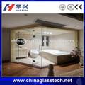 alta qualidade de vidro tipo de banheiro porta de entrada