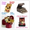 Dongguan Factory High Quality rigid paper cardboard luxury chocolate box