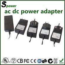 15 VDC 1500mA 22.5w regulated AC DC adapter for E-cigarette