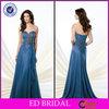 Fresh Blue Chiffon Vintage Mother Of The Groom Dress 2014