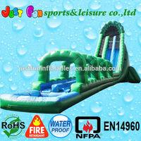 Inflatable water slip n slide, commercial inflatable water slide and slip