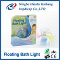 Flutuante banho de luz/festa na banheira banho de luz tempo de show de luzes