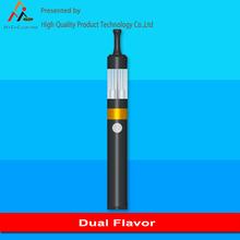 Venda quente seco ervas ou cera queimador cigarro eletrônico ( duplo sabor )
