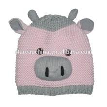 CHEAP CUSTOM COTTON LOVELY ANIMAL BABY HAT