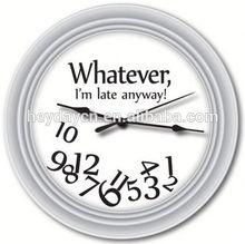 modern western style wall clock