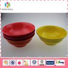 Melamine printed reusable plastic dinnerware