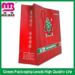 Stylish design cartoon paper bag comic 3d messenger bag