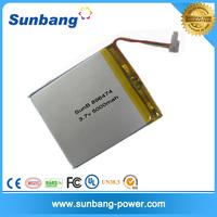 Best price 22.2V lipo 5000mah 6s battery pack ,3.7v 5000mah lipo battery for 5000mah mobile power bank